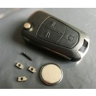 Repair Kit for Vauxhall Opel Astra Corsa Vectra Zafira 3 button remote key