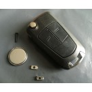 Repair Kit for Vauxhall Opel Astra Corsa Vectra Zafira 2 button remote key