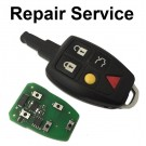 Repair Service for Volvo S60 S80 XC70 XC90 5 Button Smart Remote Key Fob