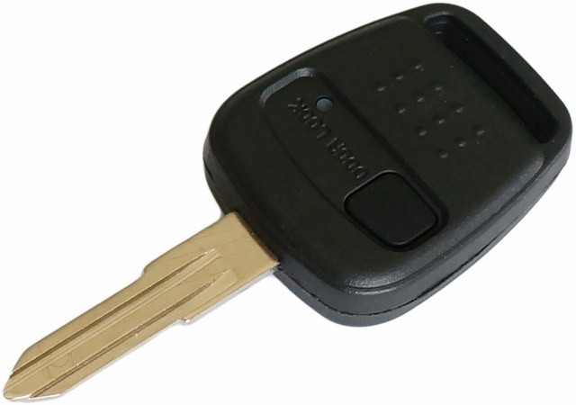 for Nissan Blue Bird 1 Button Remote Key Case and Blade