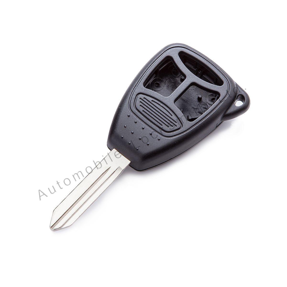 for Chrysler Jeep Dodge 3 button remote key case & blade