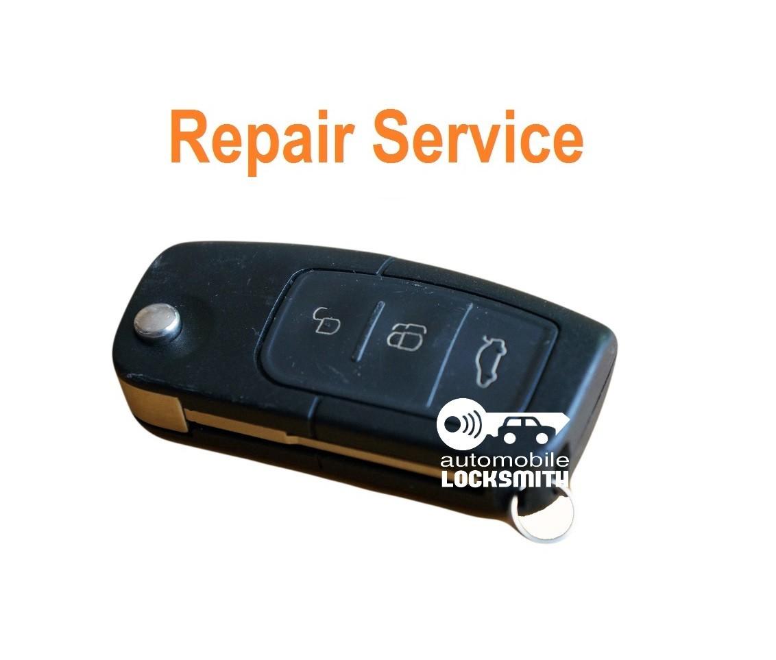REPAIR SERVICE For Ford Focus C-max Galaxy 3 button flip remote key