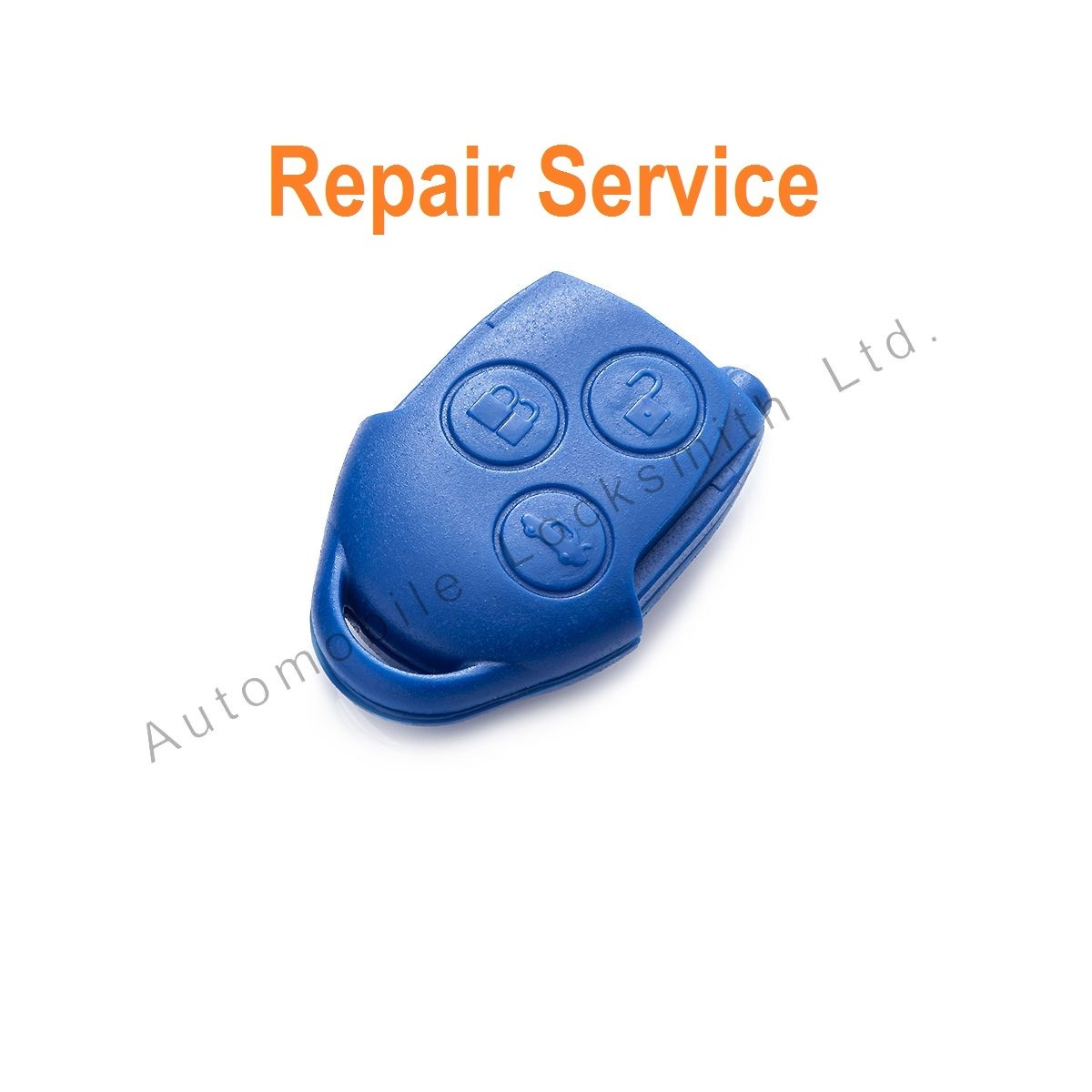 REFURBISHMENT for Ford Transit Connect 3 button remote key fob REPAIR SERVICE FIX