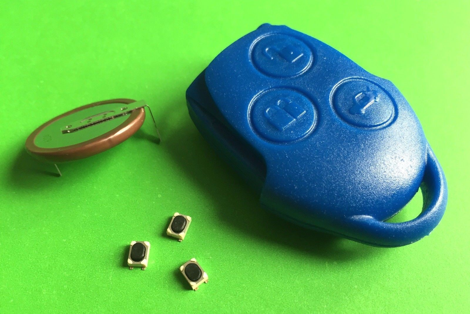 Repair Kit For Ford Transit 3 Button Remote Key Battery VL2330 Switches