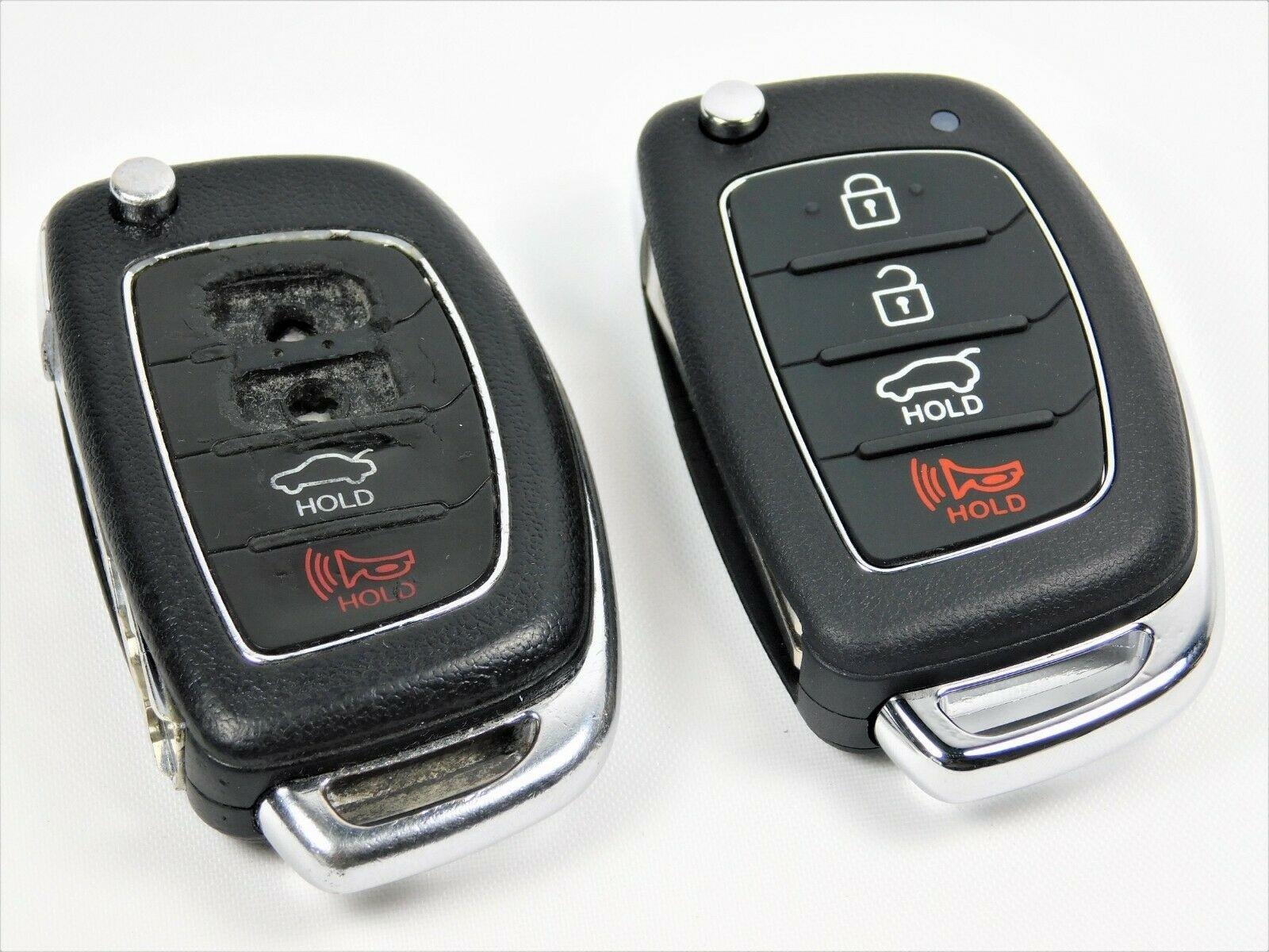 Repair Service for Hyundai IX45 IX25 IX35 I30 I35 4 button remote key
