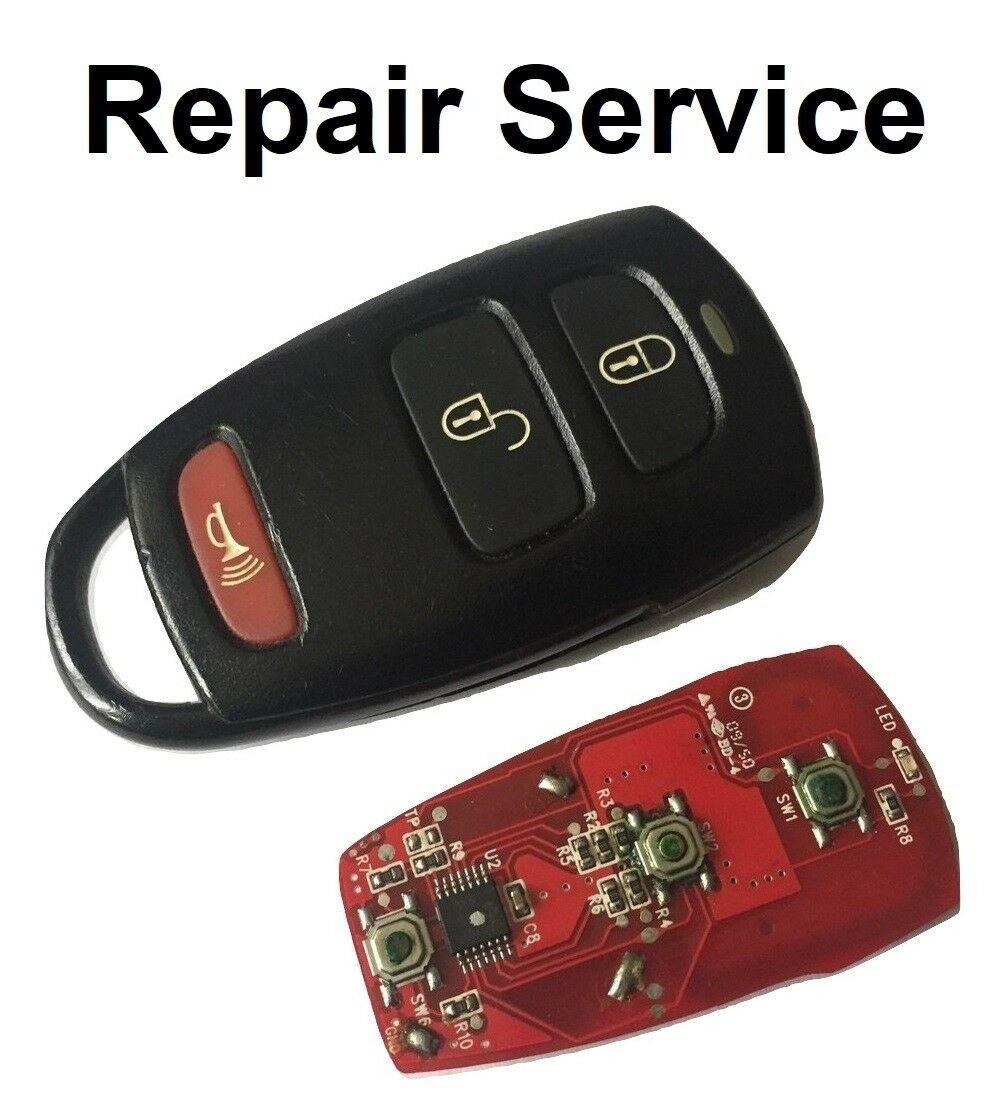 Repair Service for Kia Sedona 3 Button Remote Key Fob