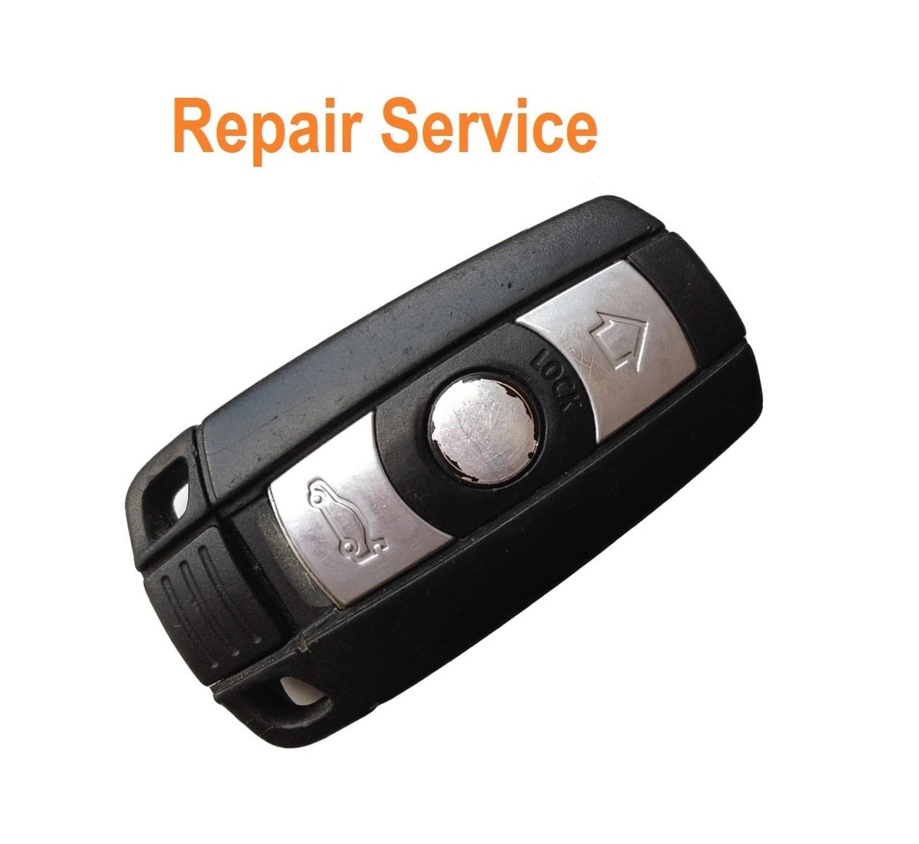 Repair Service for BMW 1 3 5 6 7 Series X3 X5 E90 E93 M3 M5 smart 3 button remote key
