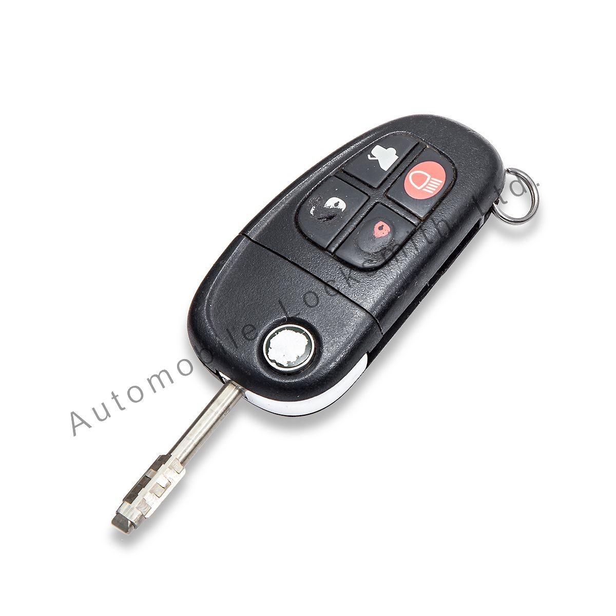 Repair Refurbishment Service for Jaguar X-Type S-Type XJ XJR 4 button remote key
