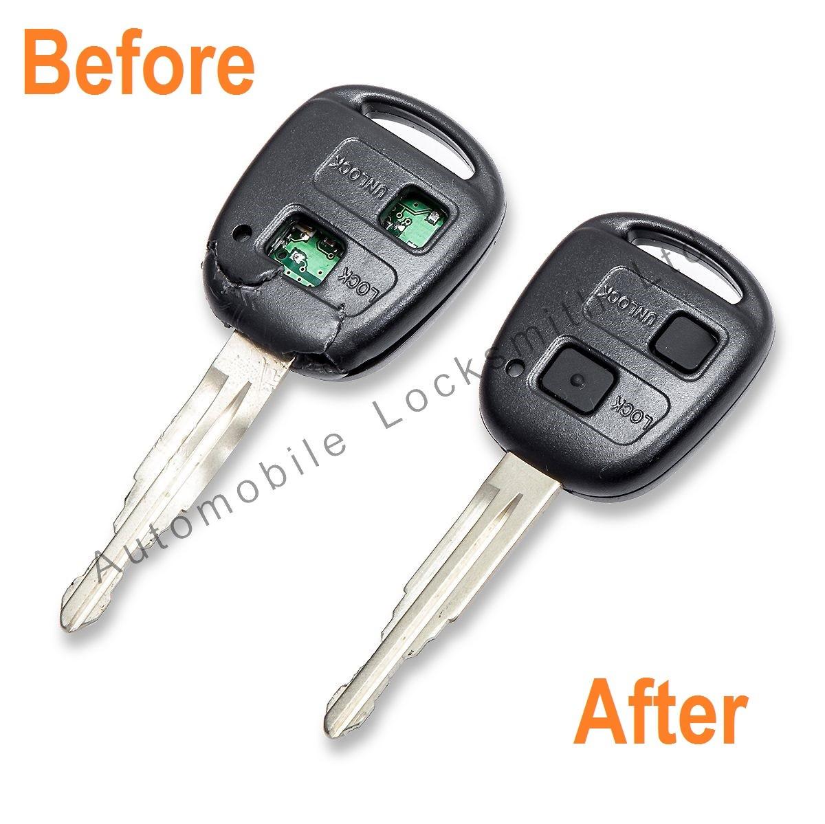 Repair Service for Toyota Lexus 2 3 button remote key