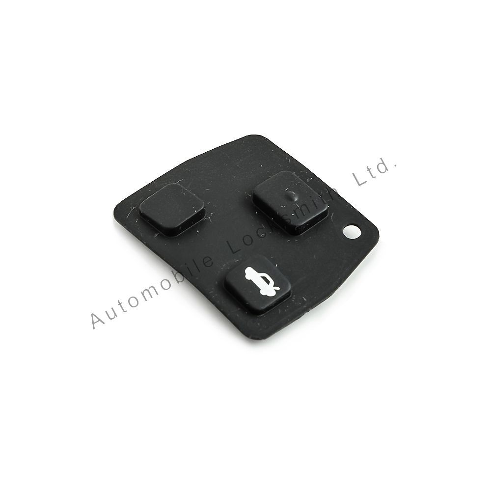 Rubber button pad for Toyota Lexus 2-3 button remote key