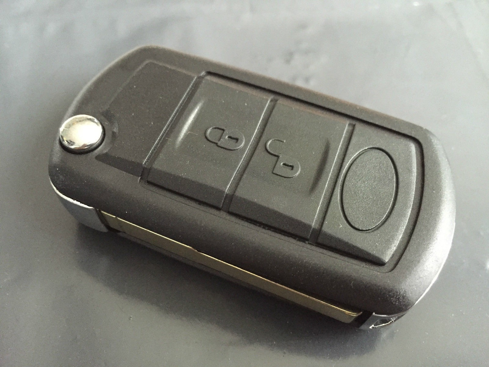 3 Button Shell Case for Land Rover Discovery 3 Range Rover Sport Remote Key