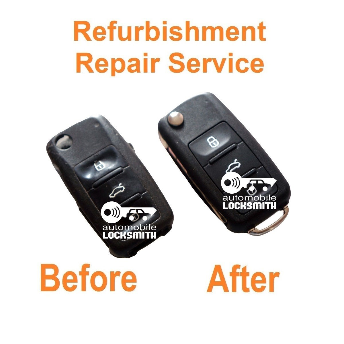 Repair Service for Skoda Octavia Fabia Roomster 3 button remote flip key