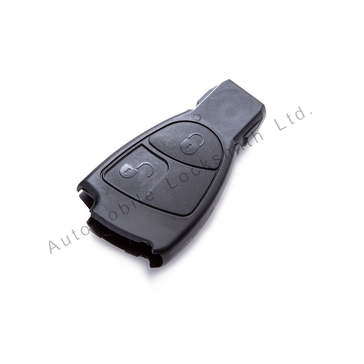 Smart key case shell for Mercedes Benz 2 button remote key