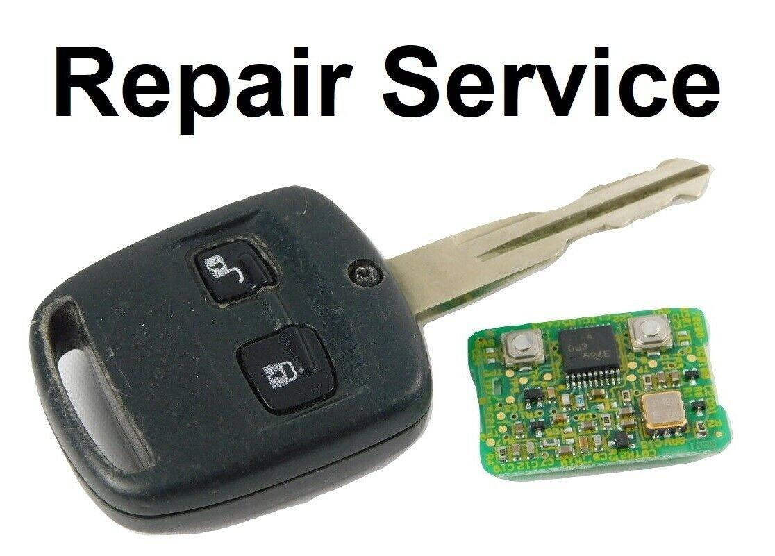 Repair Service for Subaru Outback Impreza Legacy WRX 2 Button Remote Key Fob