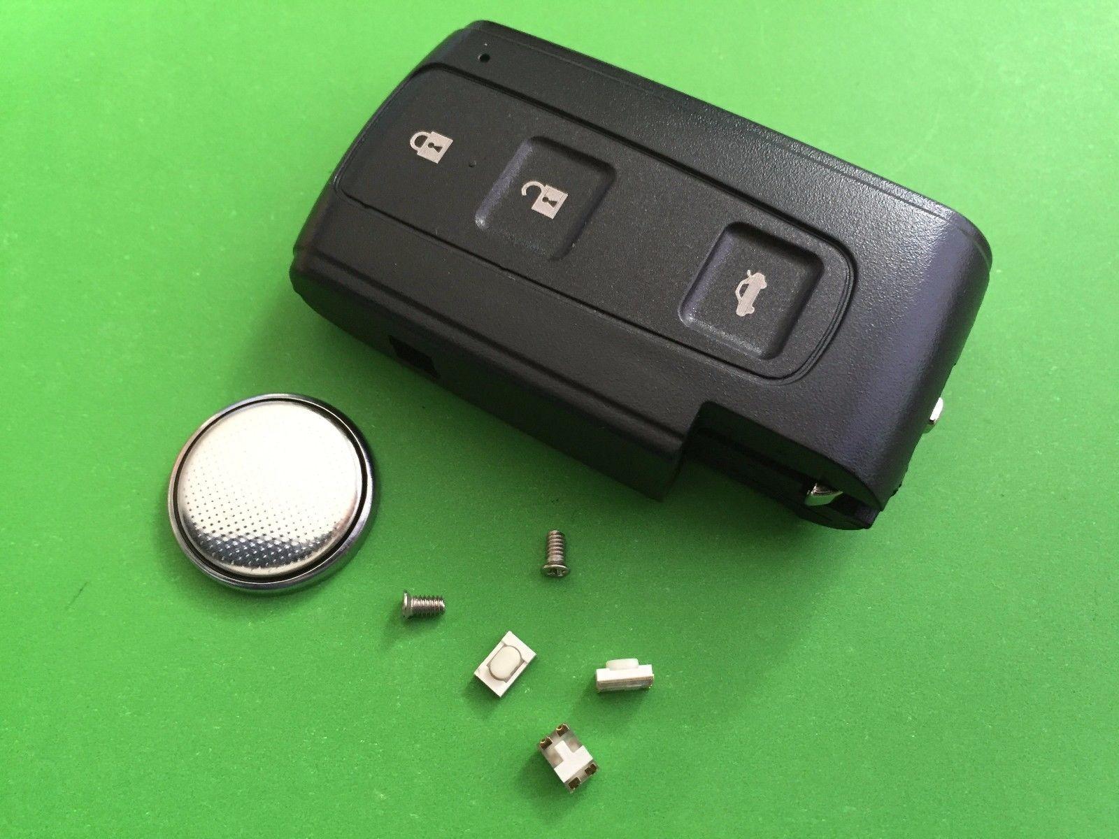 Repair kit for Toyota Corolla Verso Prius Crown 3 Button Smart Remote Key