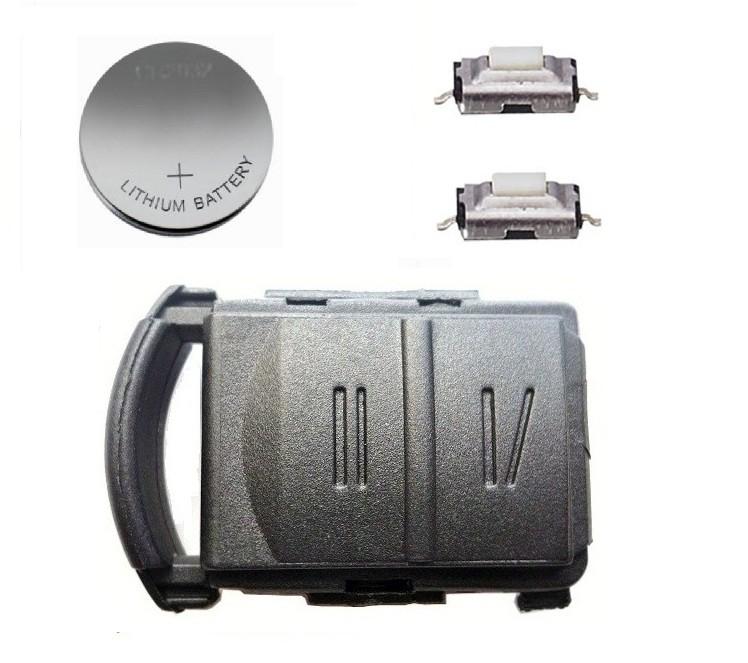 DIY Repair Kit For Vauxhall Opel Corsa Combo Van 2 Button Remote Key