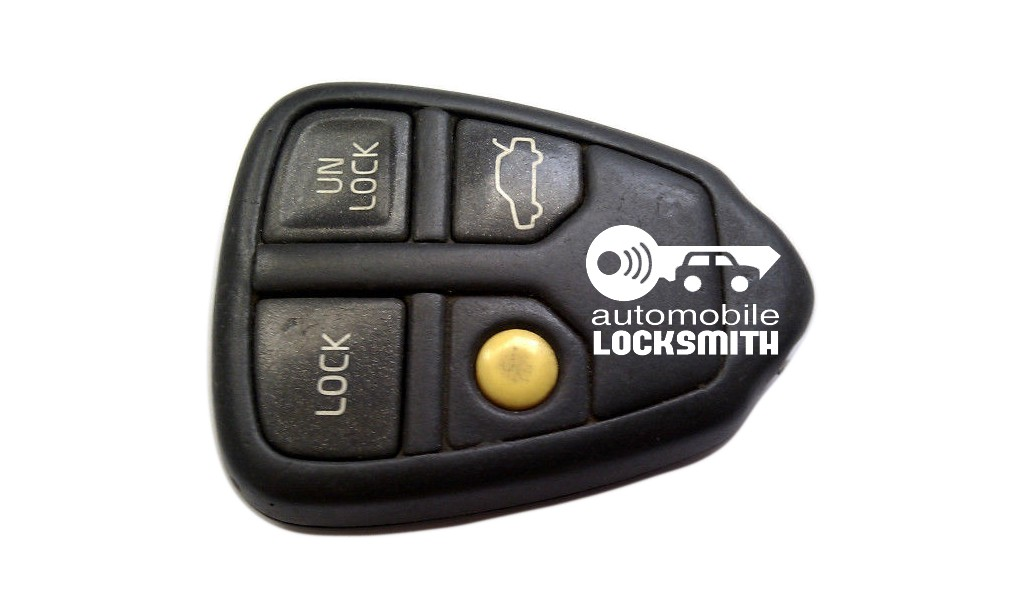 used Volvo S60 4 button remote alarm fob part no; 9459369