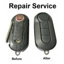Repair Service for Fiat 500 Panda Punto Bravo Abarth 3 Button Remote Key