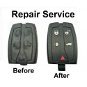 Repair service for Land Rover Freelander 5 button remote smart key shell battery