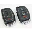 Repair Service for Hyundai IX45 IX25 IX35 I30 I35 4 button remote key