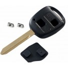 For Toyota Avensis Corolla 2 button remote key repair kit Toy47