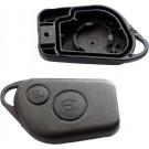 for Citroen 2 button remote alarm fob shell case