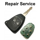 Repair Service for Chrysler Jeep Dodge 2 Button Remote Key