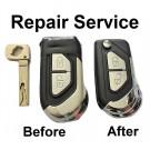 Repair Service for Citroen DS3 2 Button Remote Flip Key Fob