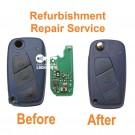 Repair service for Citroen Nemo Multispace 3 Button remote key fob