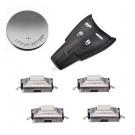 DIY repair kit for Saab 9-3 9-5 Aero 4 button smart remote key