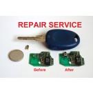 Repair Service for Fiat Bravo Panda Punto Scudo Multipla 1 button remote key