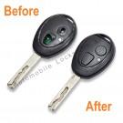 Repair Service for Land Rover Mini Mg Rover 75 2 button remote key