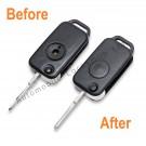 Repair service for Mercedes 1 button remote flip key
