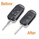 Repair service for Mercedes 2 button remote flip key