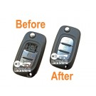 Refurbishment Repair service for Renault Clio Mk5 Kangoo Megane Modus 3 button remote flip key