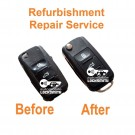 Repair Service for Skoda Octavia Fabia Roomster 3 button remote flip key