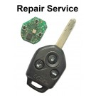 Repair Service for Subaru 3 Button Remote Key Fob