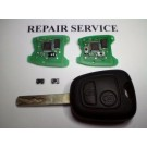 For Toyota Aygo 2 Button Remote Key Fob Repair Service