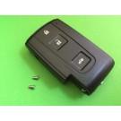 For Toyota Corolla Verso Prius Crown 3 Button Smart Remote Key Case Shell