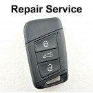 Repair Service for VW Volkswagen MK7 Golf Passat B8 3 Button Smart Remote Key